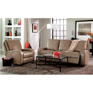 craftmaster l356450 sleek recliner powell 39 s furniture and mattress