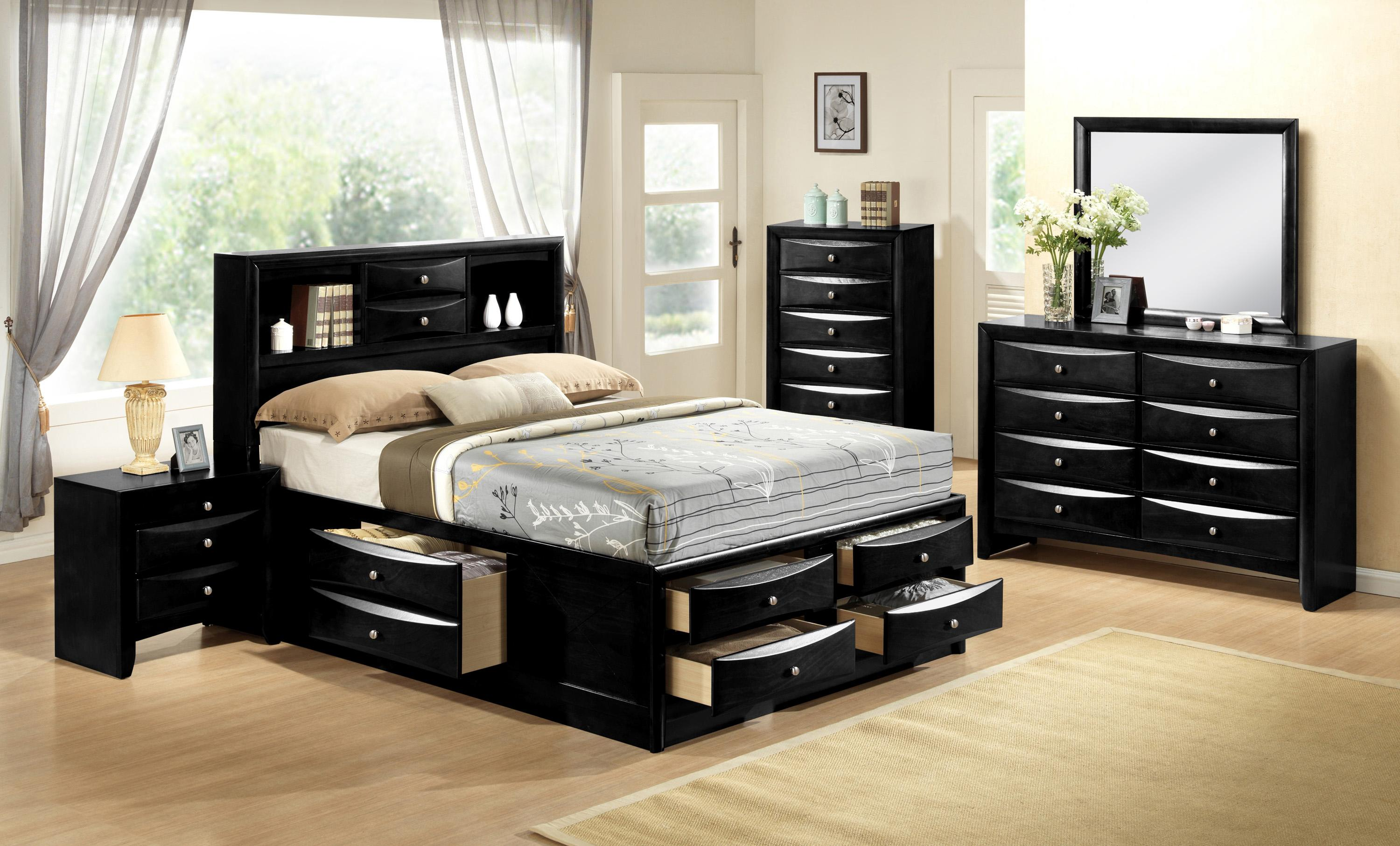 Emily Queen Bedroom Group by Crown Mark at Catalog Outlet
