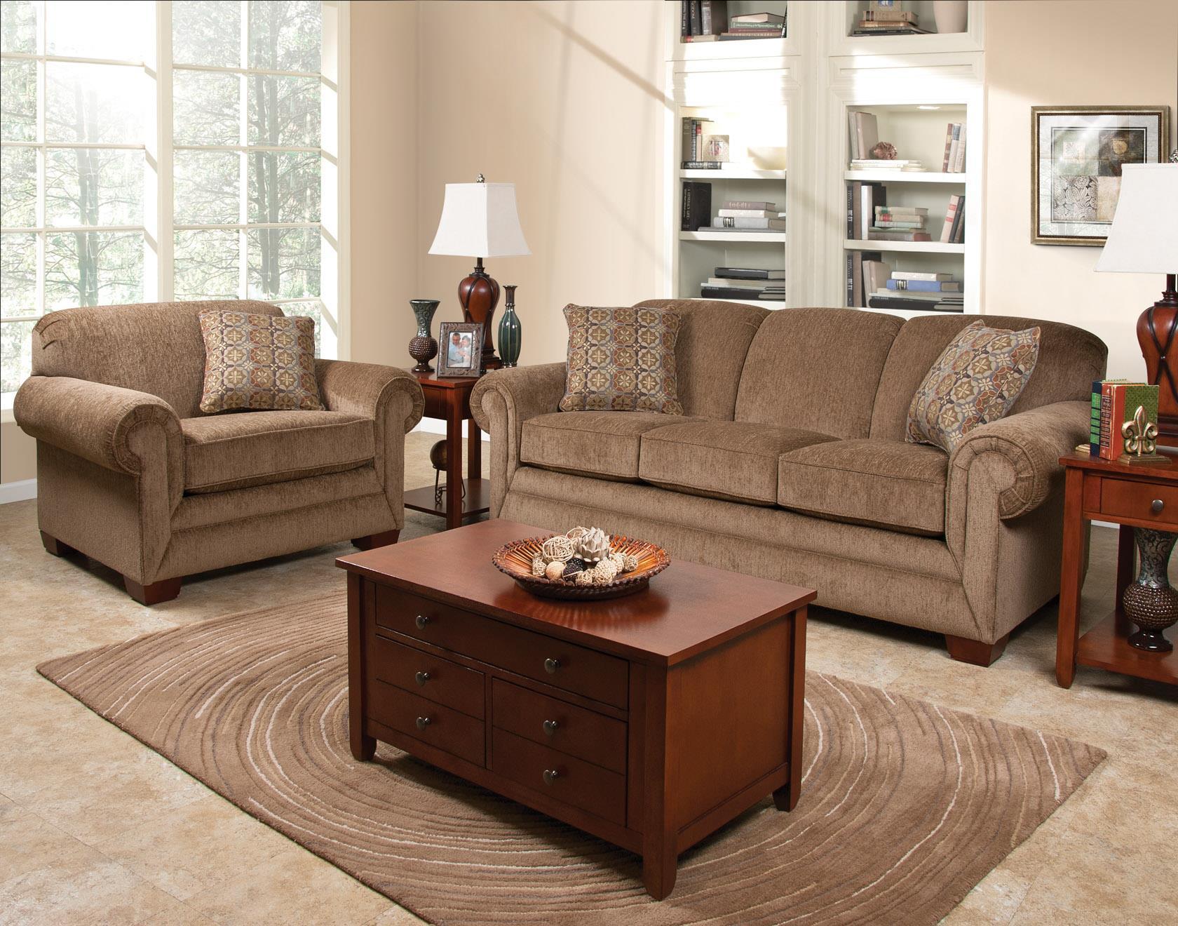 England Monroe Stationary Living Room Group Dunk