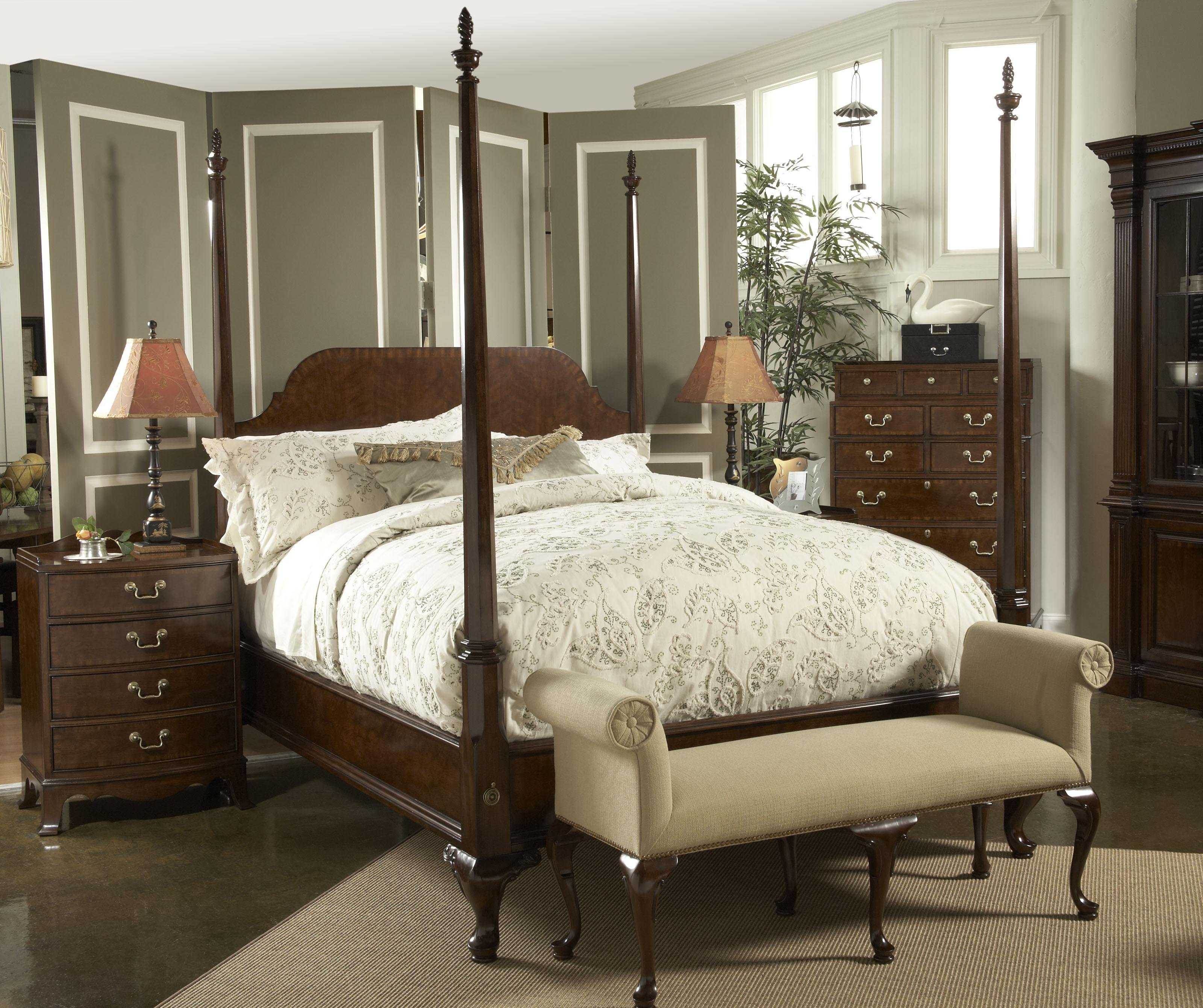 American Cherry Queen Bedroom Group By Fine Furniture Design Wolf Furniture