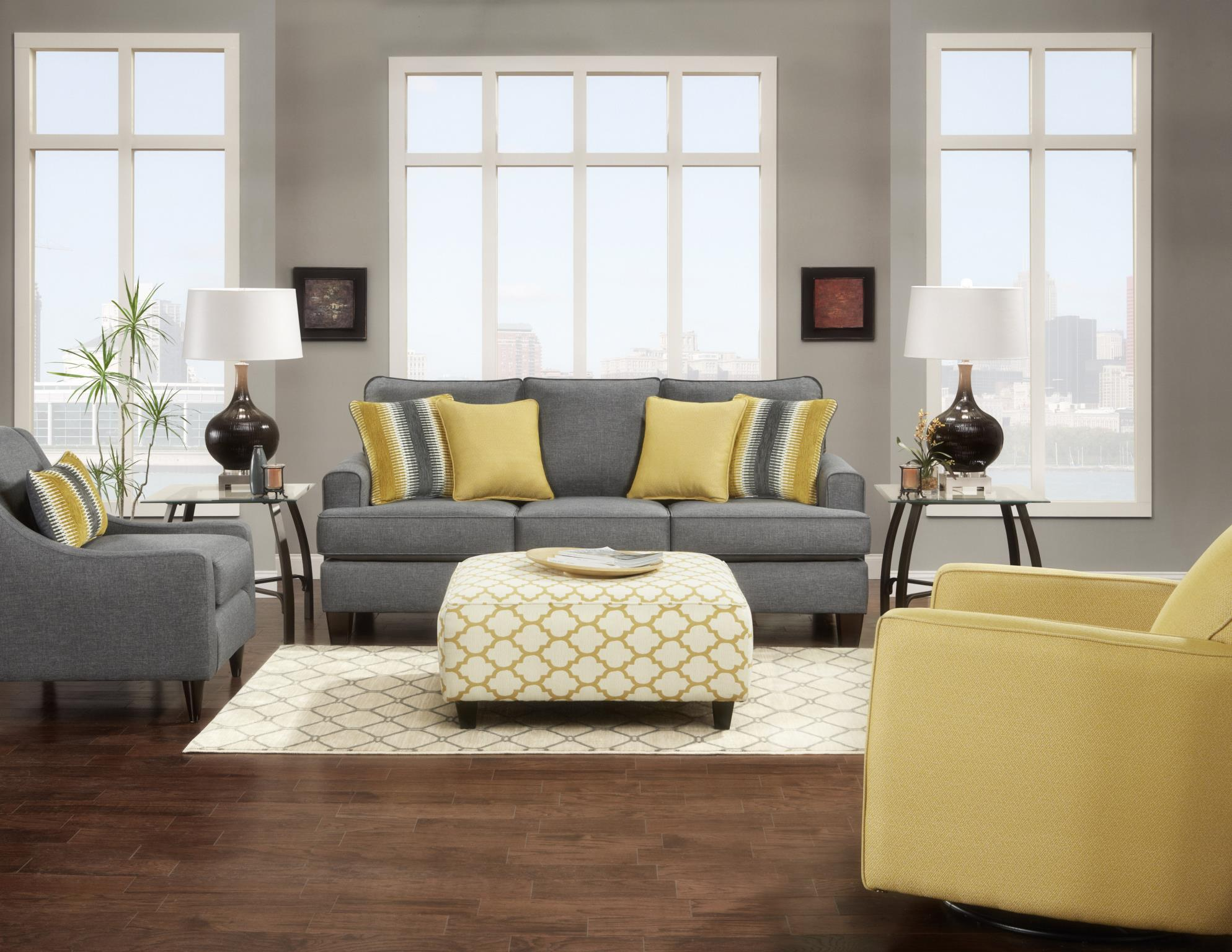 Fusion Furniture 2600 Stationary Living Room Group Olinde 39 S Furniture Stationary Living Room