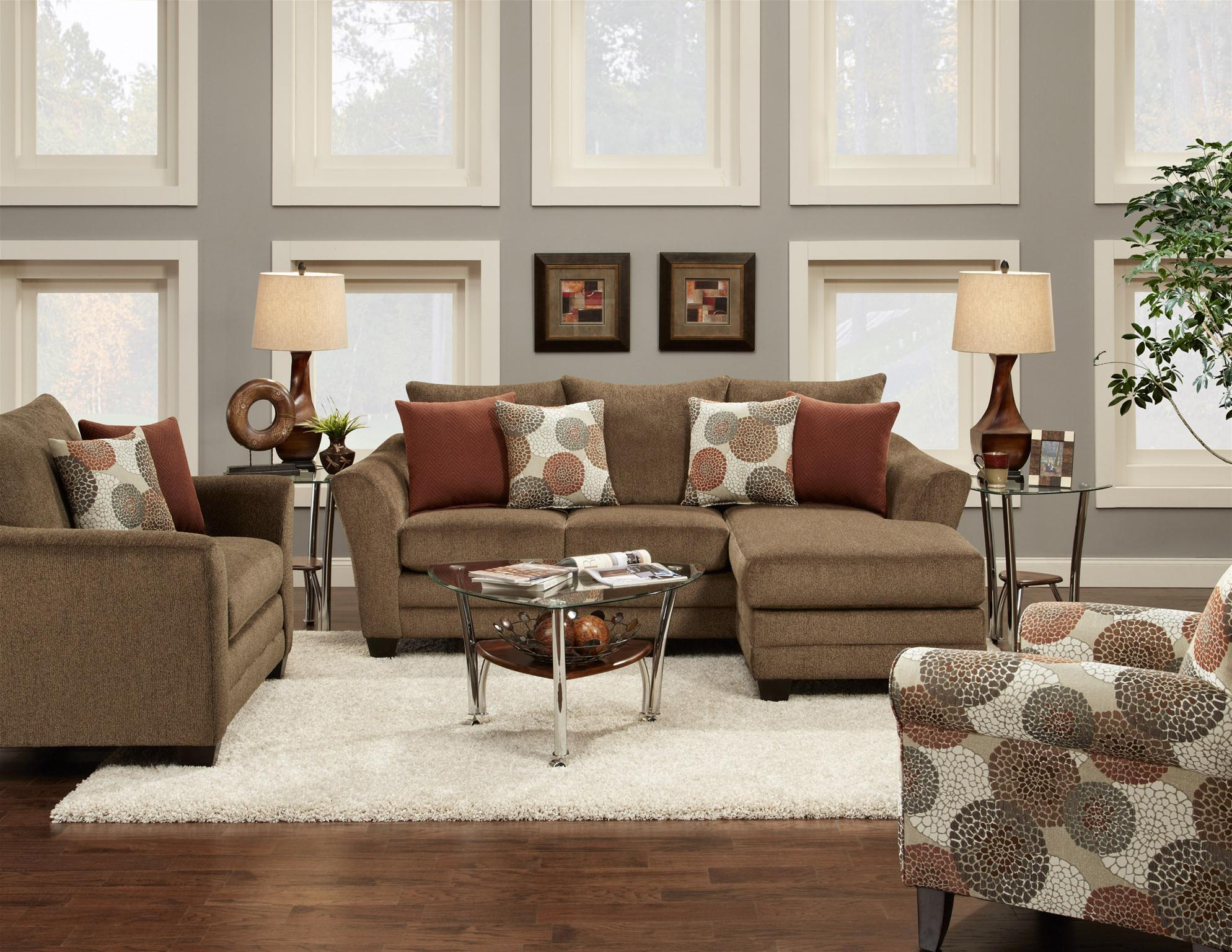 Fusion Furniture 9700 Stationary Living Room Group Olinde 39 S Furniture Stationary Living Room