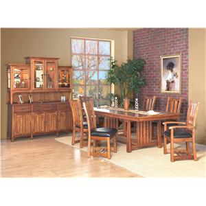 dining table mueller furniture dining room table st louis mo
