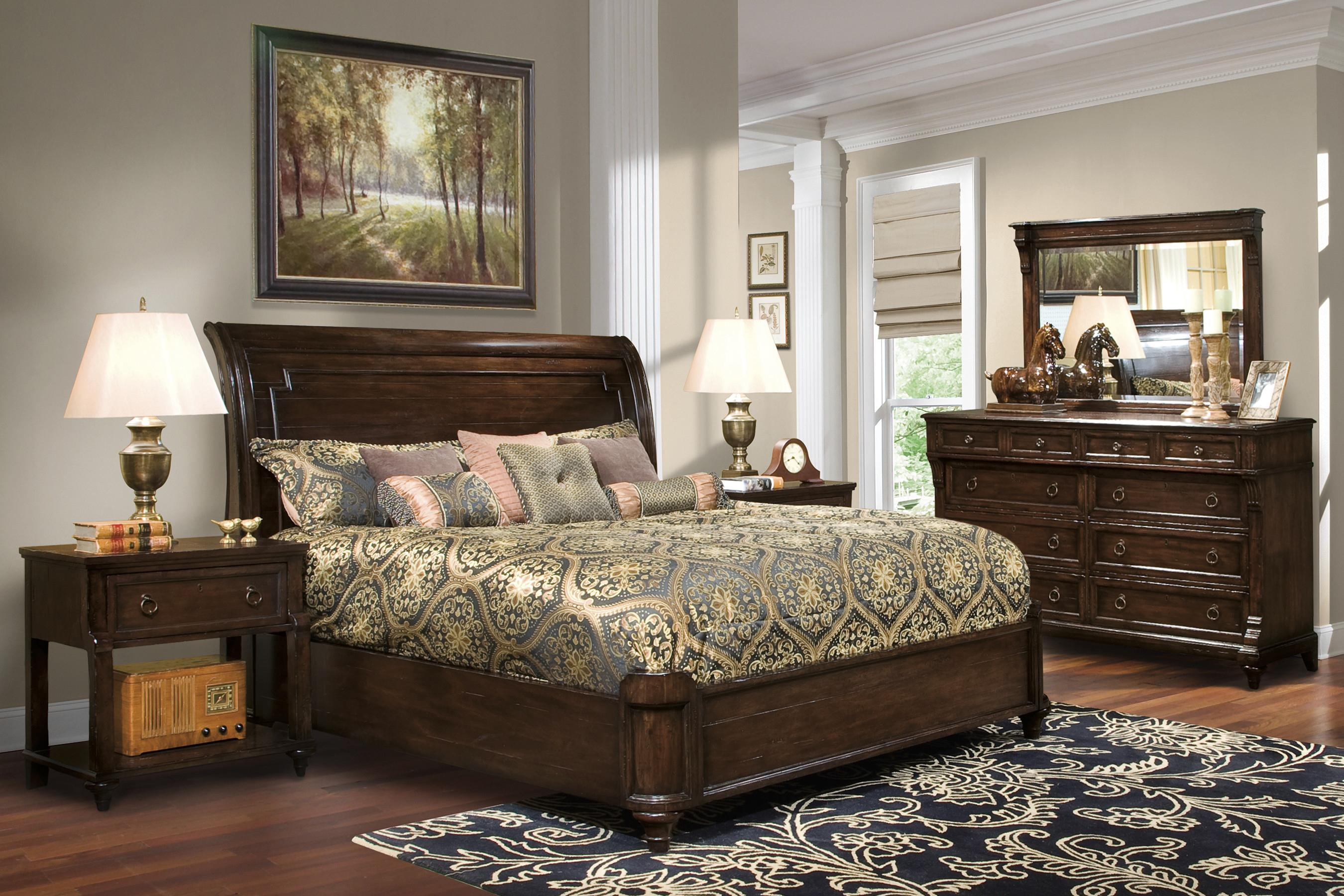 Hekman Charleston Place King Bedroom Group 2 Olinde 39 S Furniture Bedroom Group