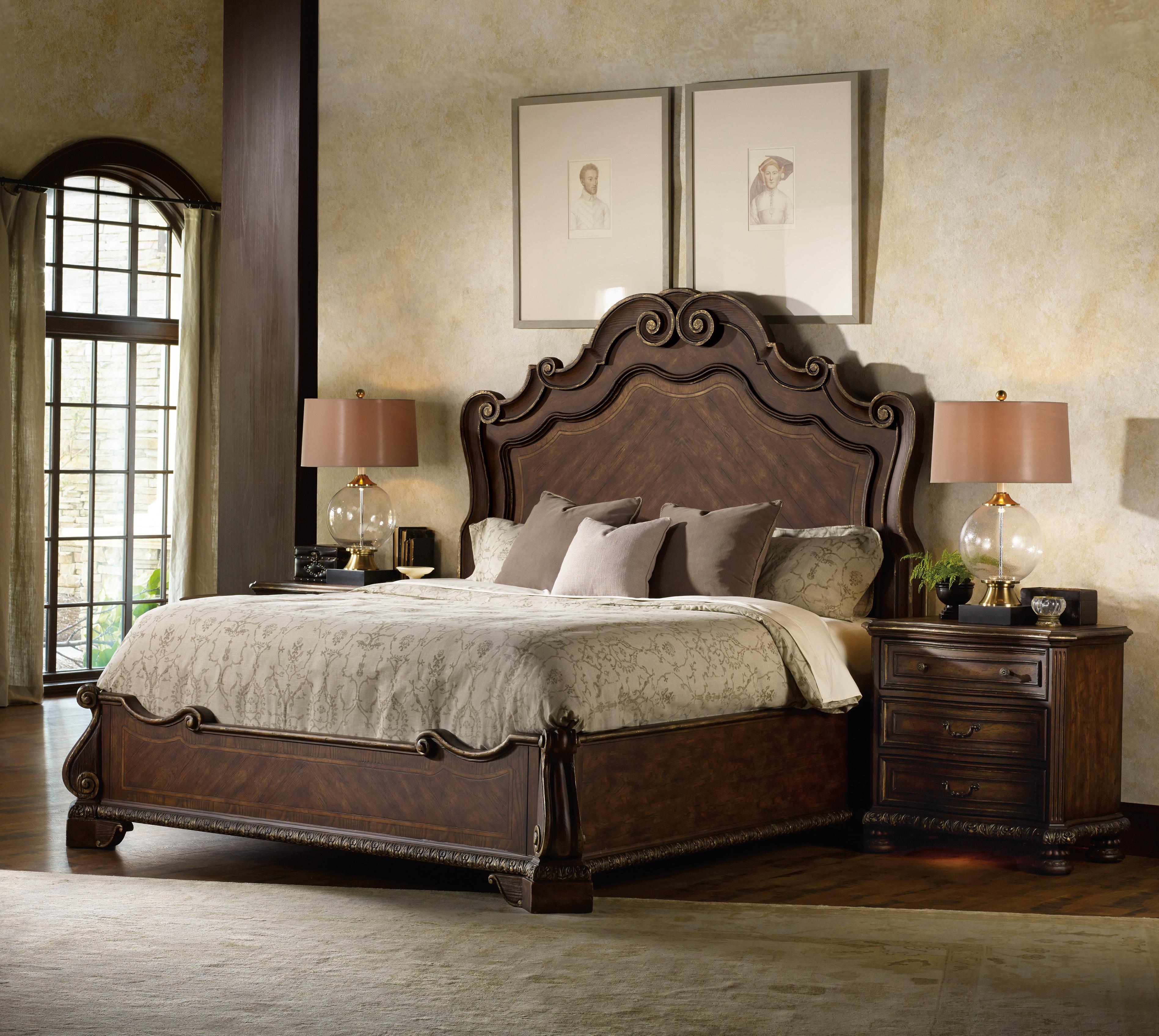hooker furniture adagio king bedroom group olinde 39 s furniture
