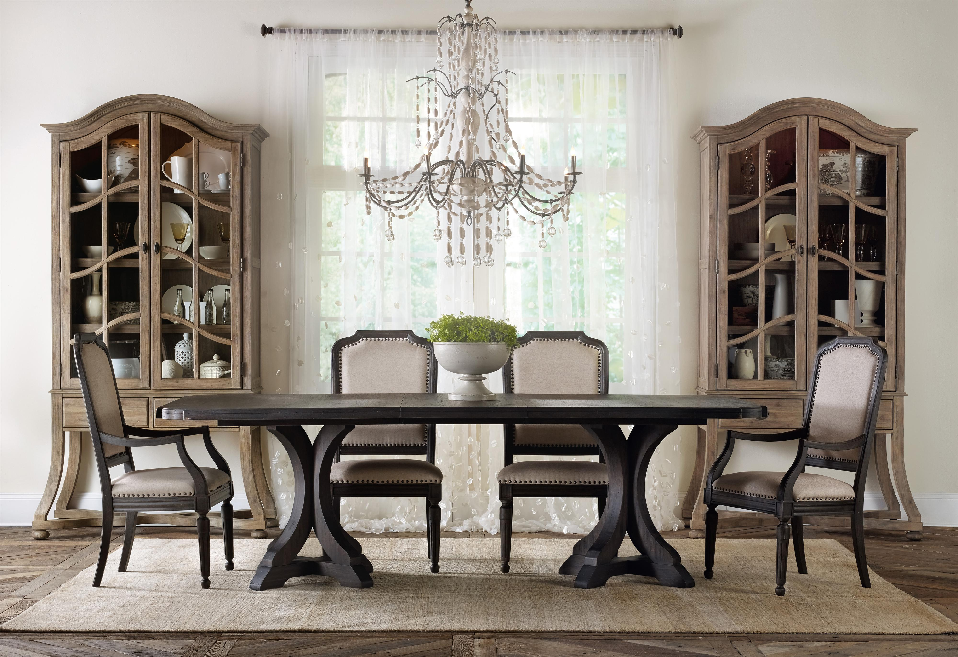 Hooker Furniture Corsica Formal Dining Room Group With
