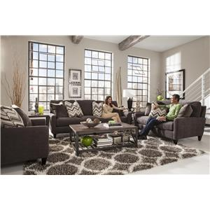 Mulholland 3255 by jackson furniture l fish jackson for L fish furniture
