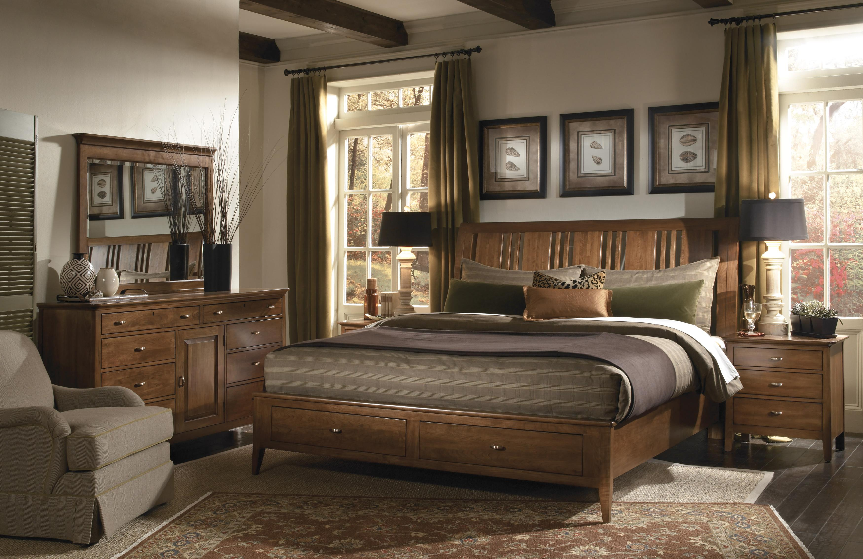 Cherry Park 63 By Kincaid Furniture Belfort Furniture