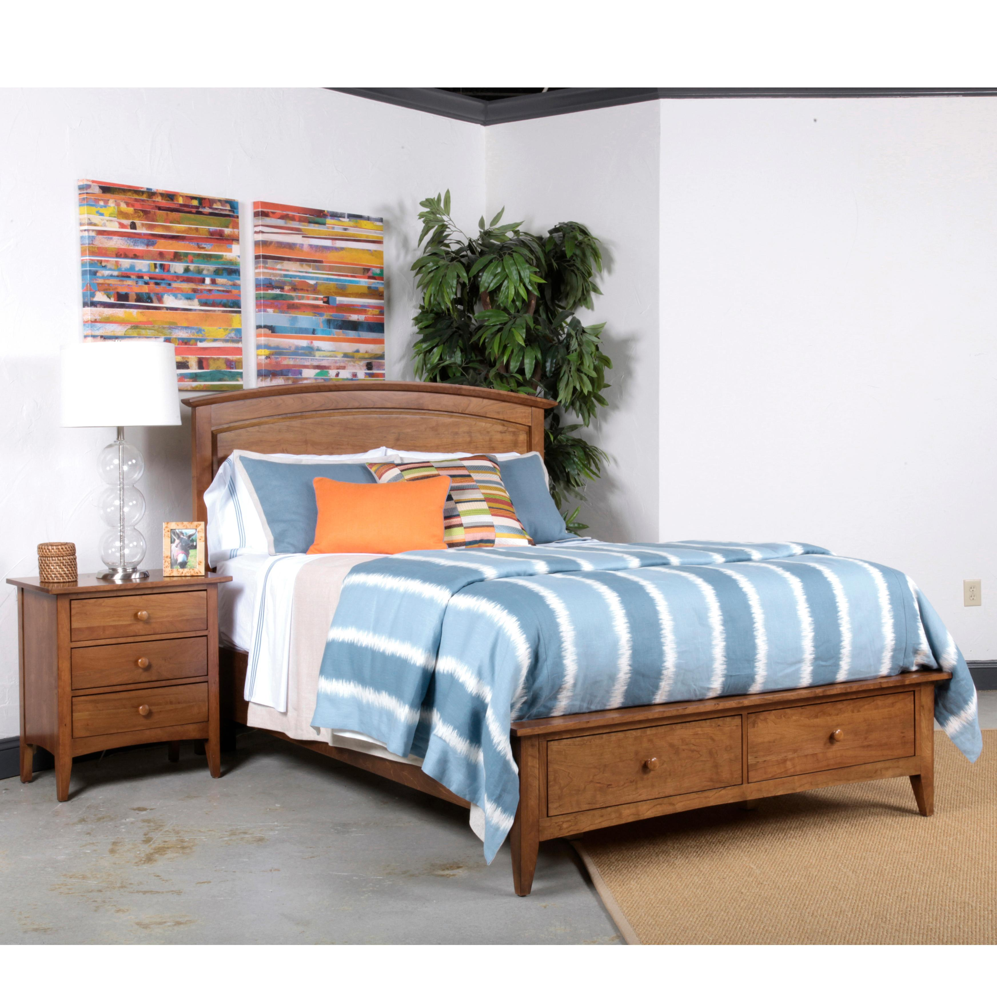kincaid furniture gatherings king bedroom group adcock furniture bedroom group. Black Bedroom Furniture Sets. Home Design Ideas