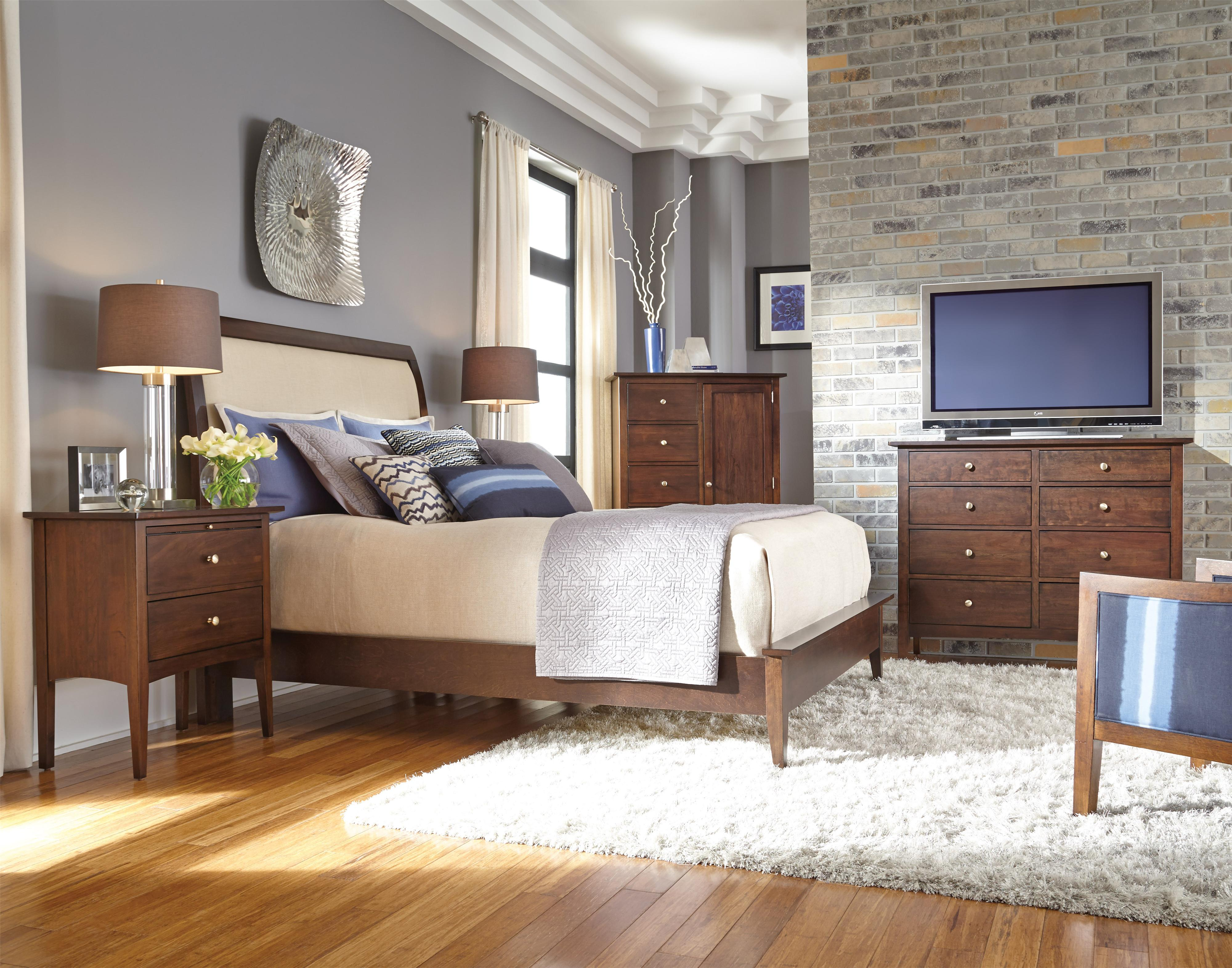 Kincaid Furniture Gatherings Queen Bedroom Group Olinde