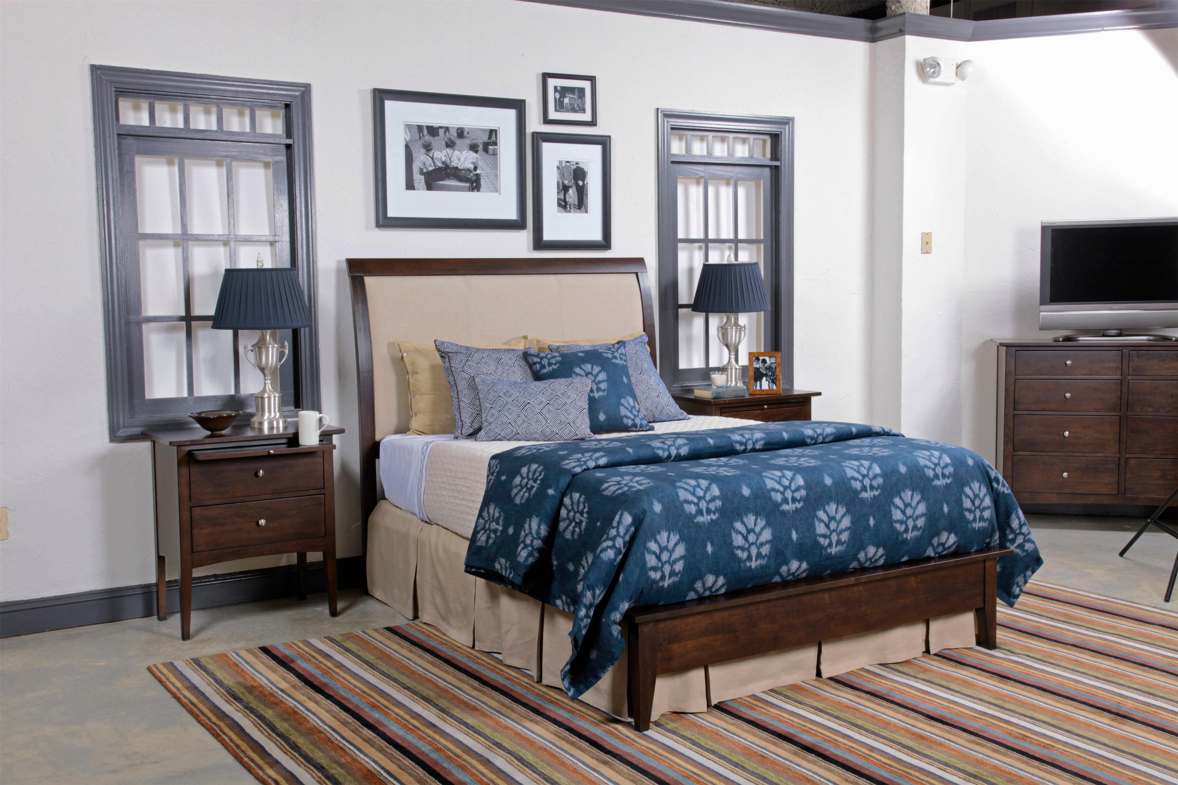 kincaid furniture gatherings queen bedroom group hudson 39 s furniture bedroom group. Black Bedroom Furniture Sets. Home Design Ideas