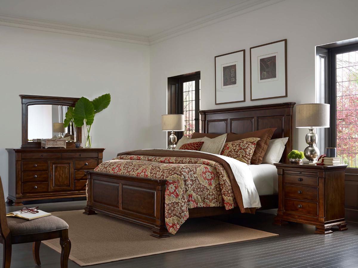Kincaid furniture portolone queen bedroom group belfort for Kincaid furniture