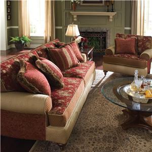 Kincaid Furniture Tuscany 803 86 Sofa Johnny Janosik