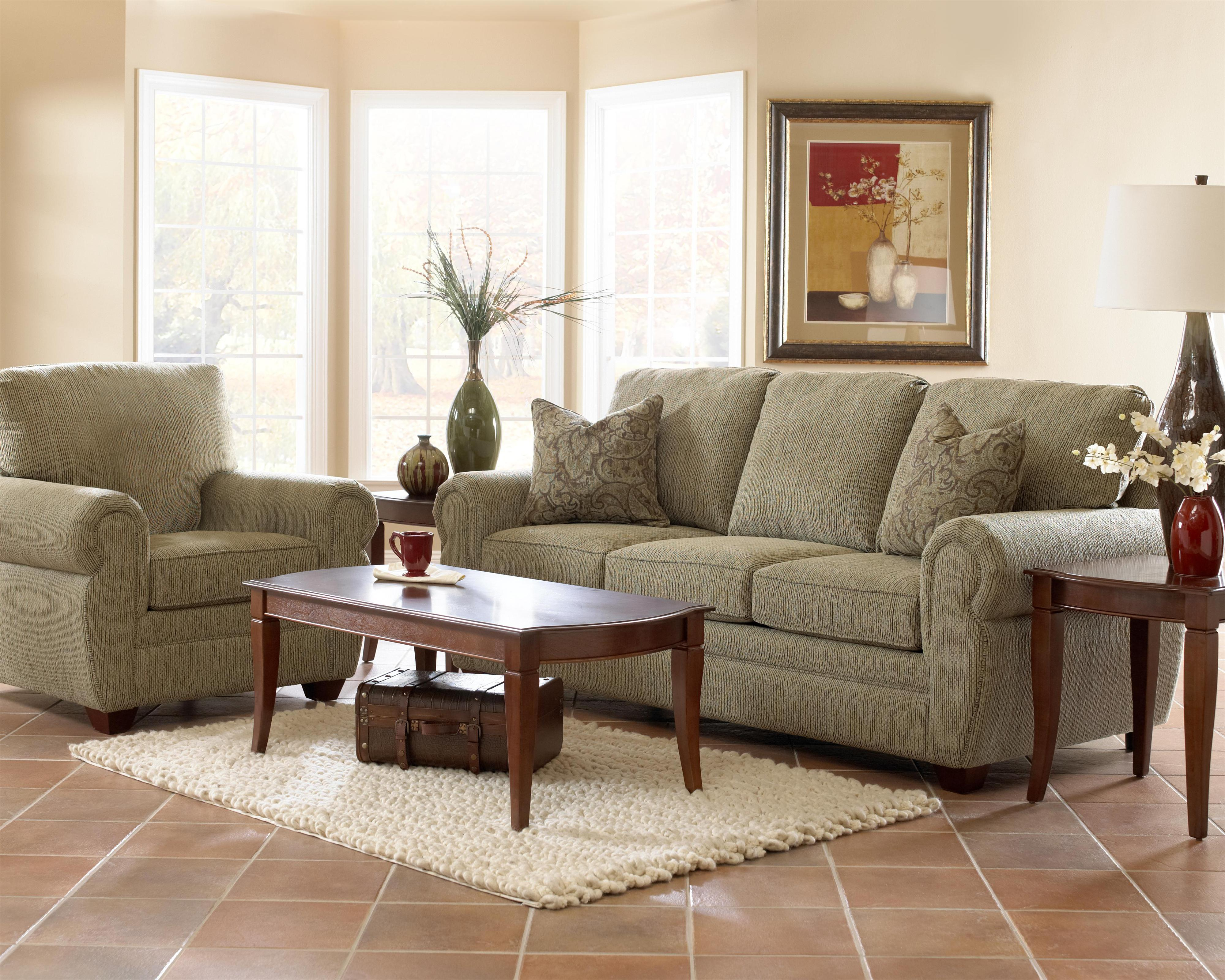 Klaussner Westbrook Stationary Living Room Group Value City Furniture Stationary Living Room