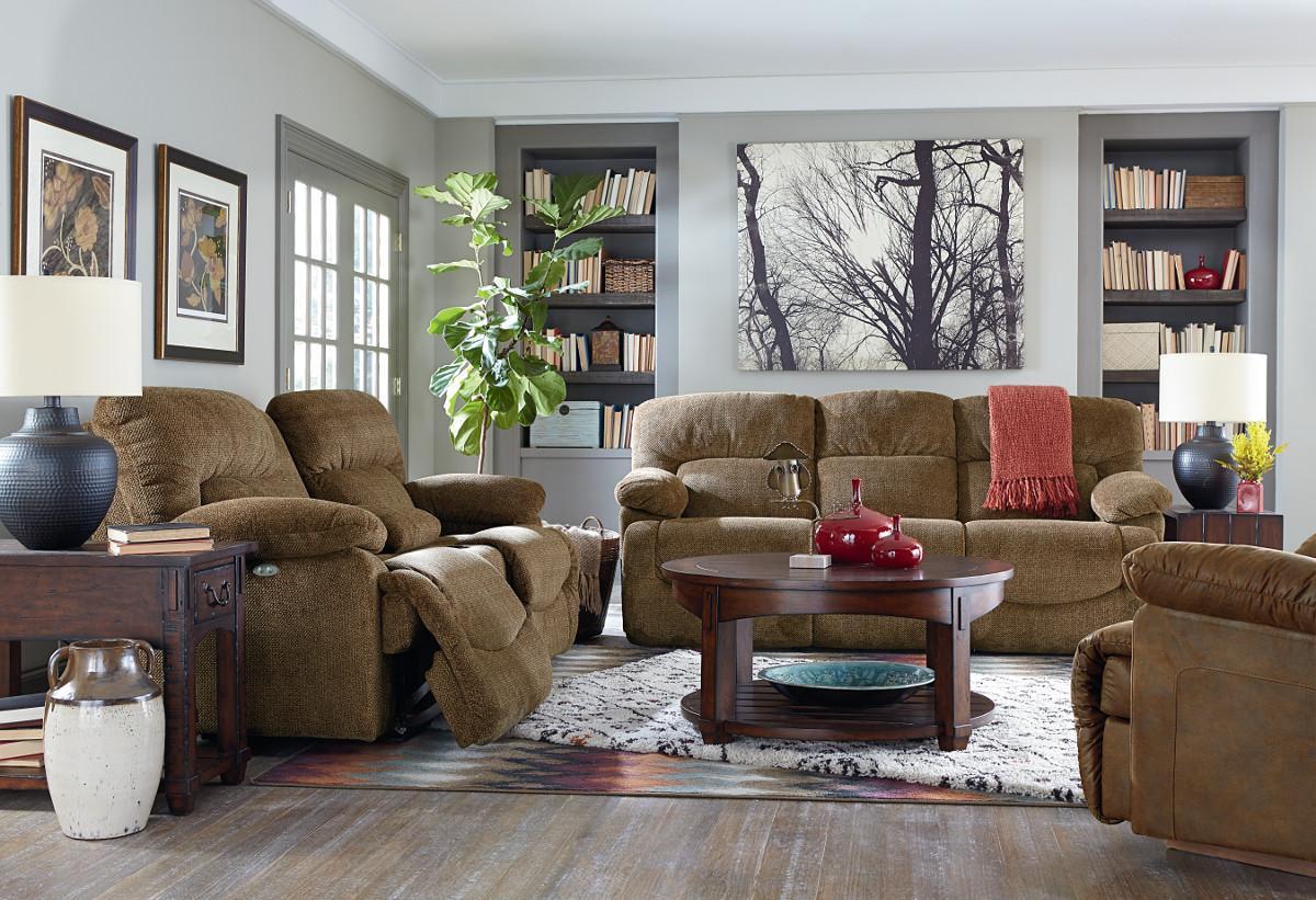 La Z Boy Asher Reclining Living Room Group Boulevard Home Furnishings Reclining Living Room
