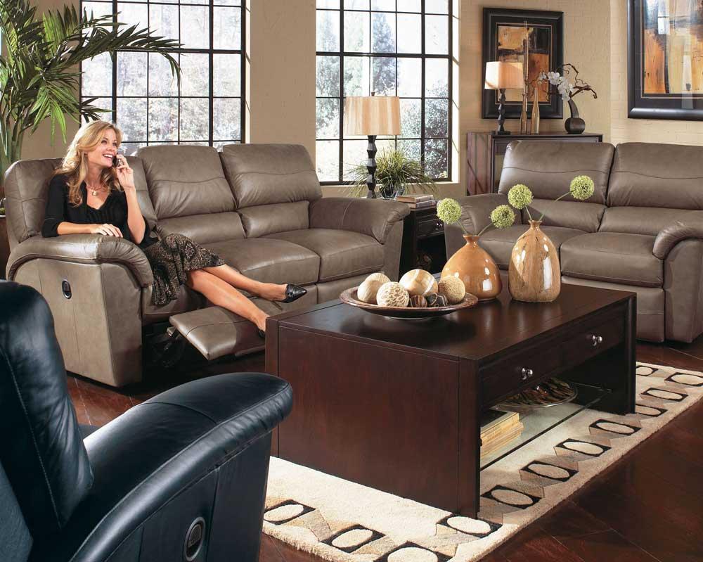 La Z Boy Reese Reclining Living Room Group Adcock Furniture Reclining Living Room Groups