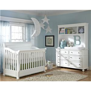 Legacy Classic Kids Madison Full Size Bookcase Bed With