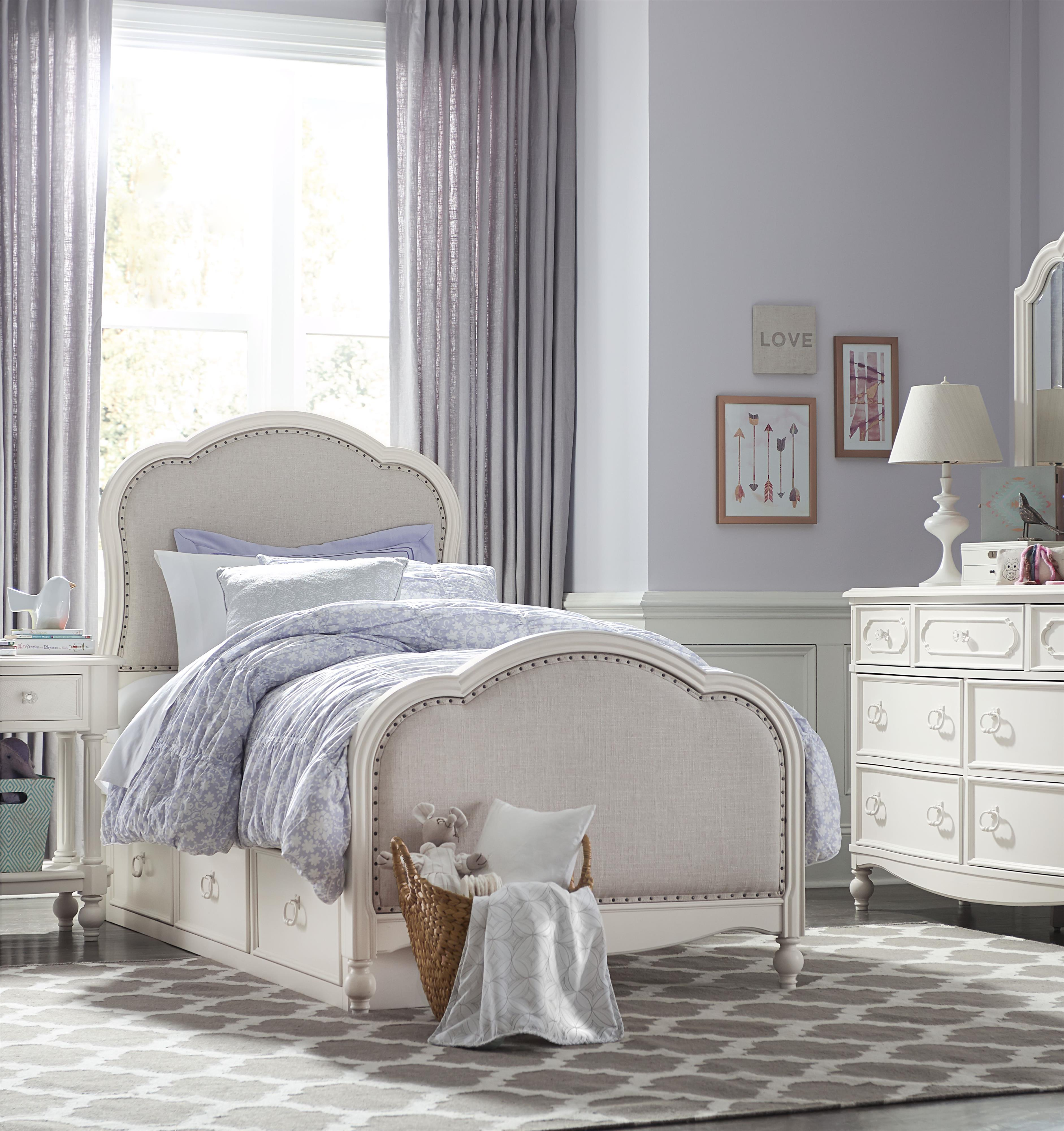 Legacy classic kids harmony full bedroom group belfort for Legacy classic bed