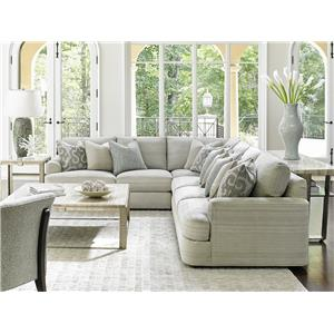 Lexington laurel canyon 7945 sect halandale two piece for Laurel 4 piece sectional sofa