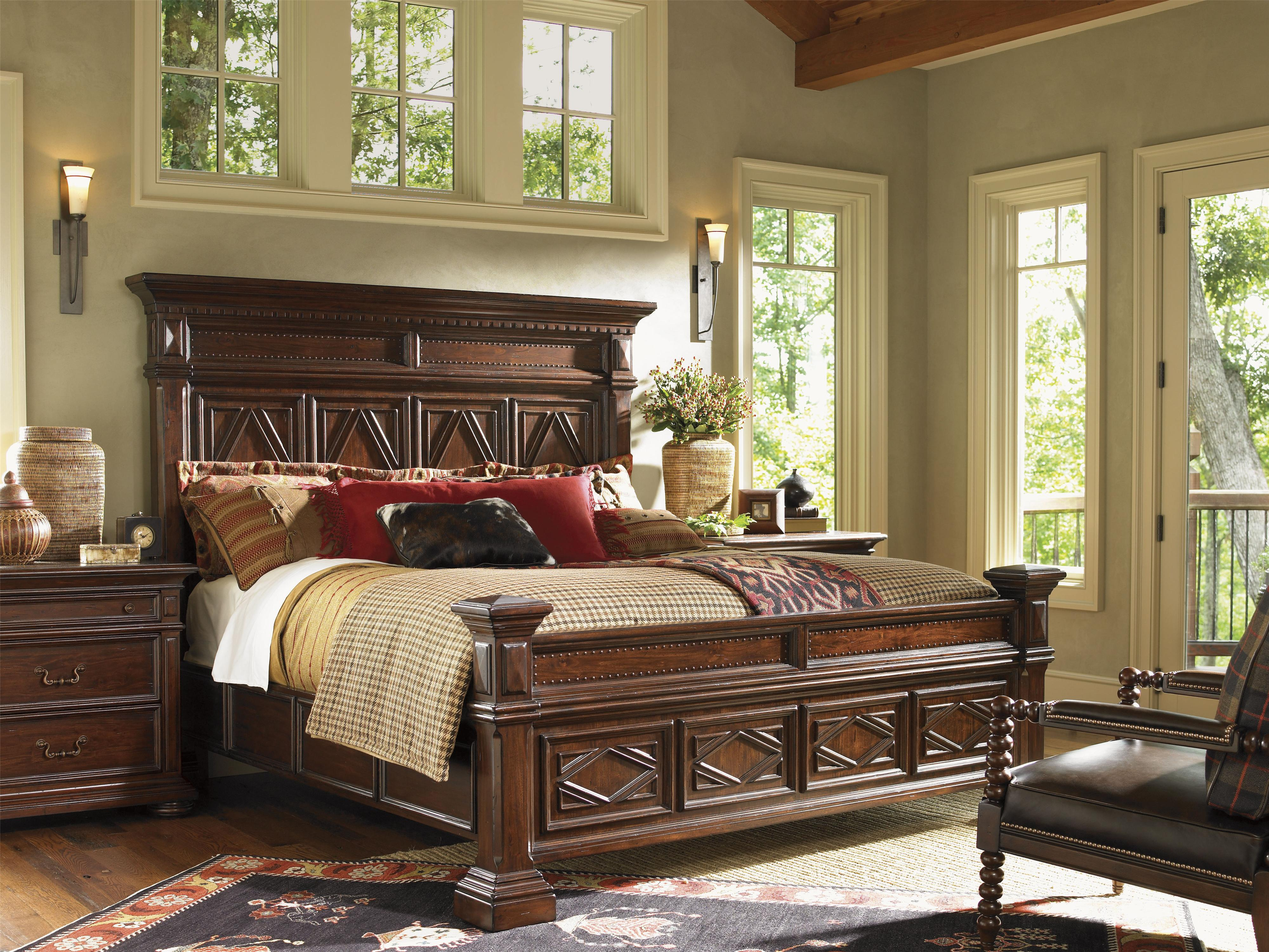 Fieldale lodge leather by lexington baer 39 s furniture for Lexington bedroom furniture