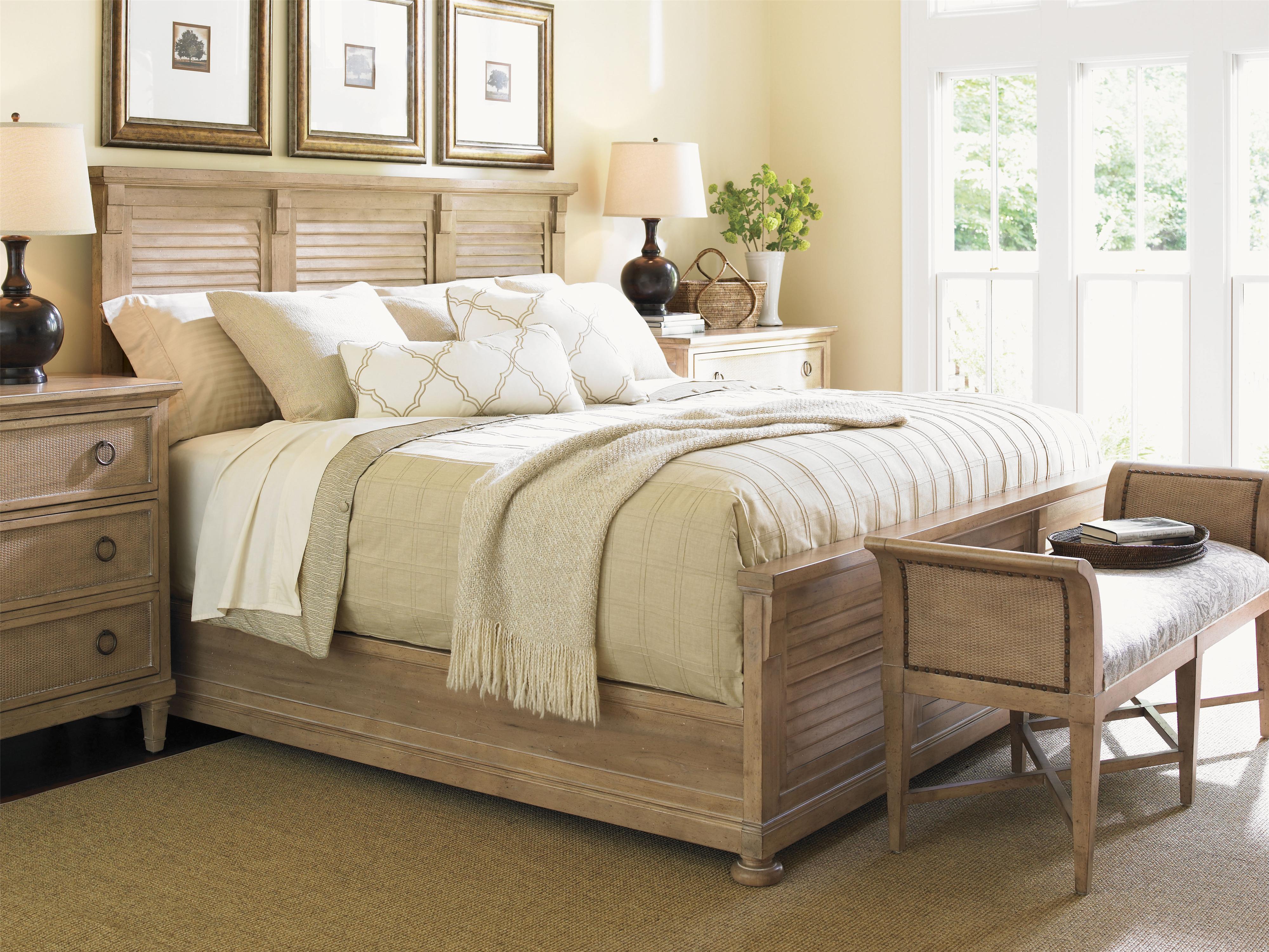 Lexington Monterey Sands King Bedroom Group Belfort Furniture Bedroom Groups