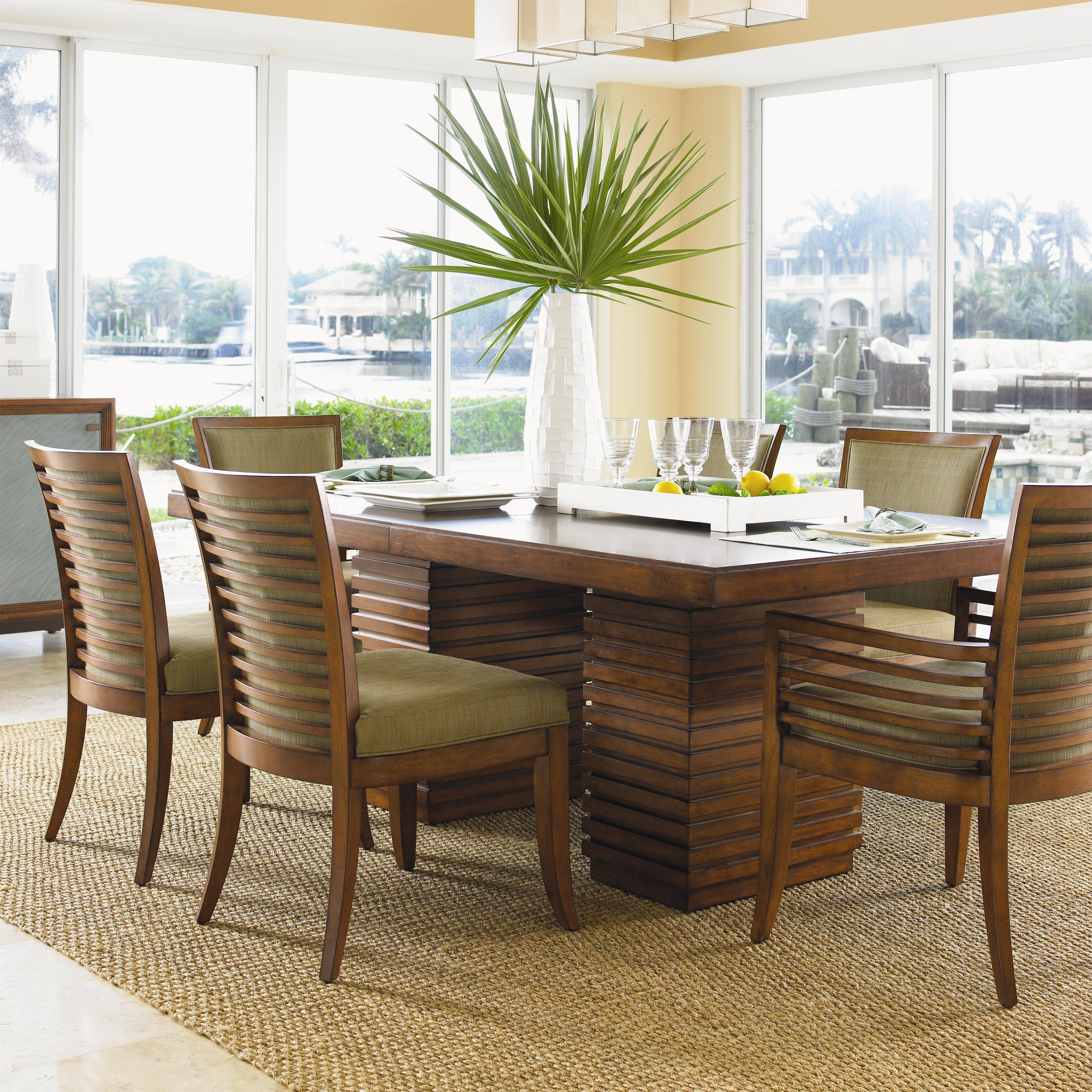 Ocean club 536 by tommy bahama home baer 39 s furniture for Beach dining table