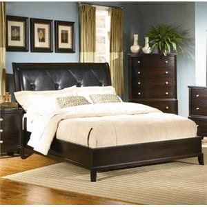 Lifestyle 7185a 6 Piece Queen Upholstered Bedroom Group