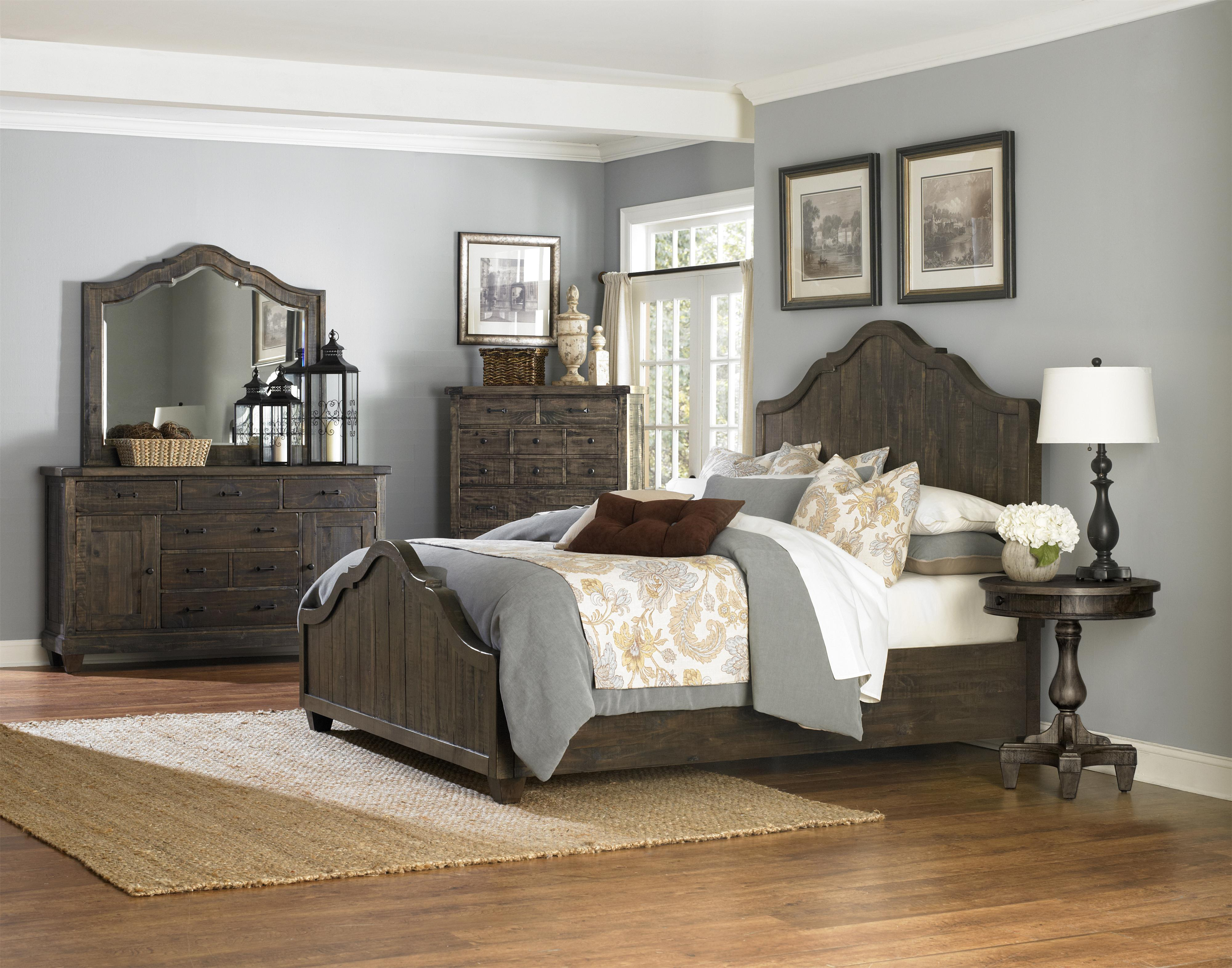 Magnussen home brenley queen bedroom group dunk bright - Bright house bedroom furniture ...