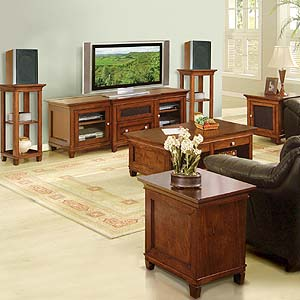 Kathy Ireland Home By Martin Bradley Space Saver Table Living Room Storage Cabinet Powell 39 S