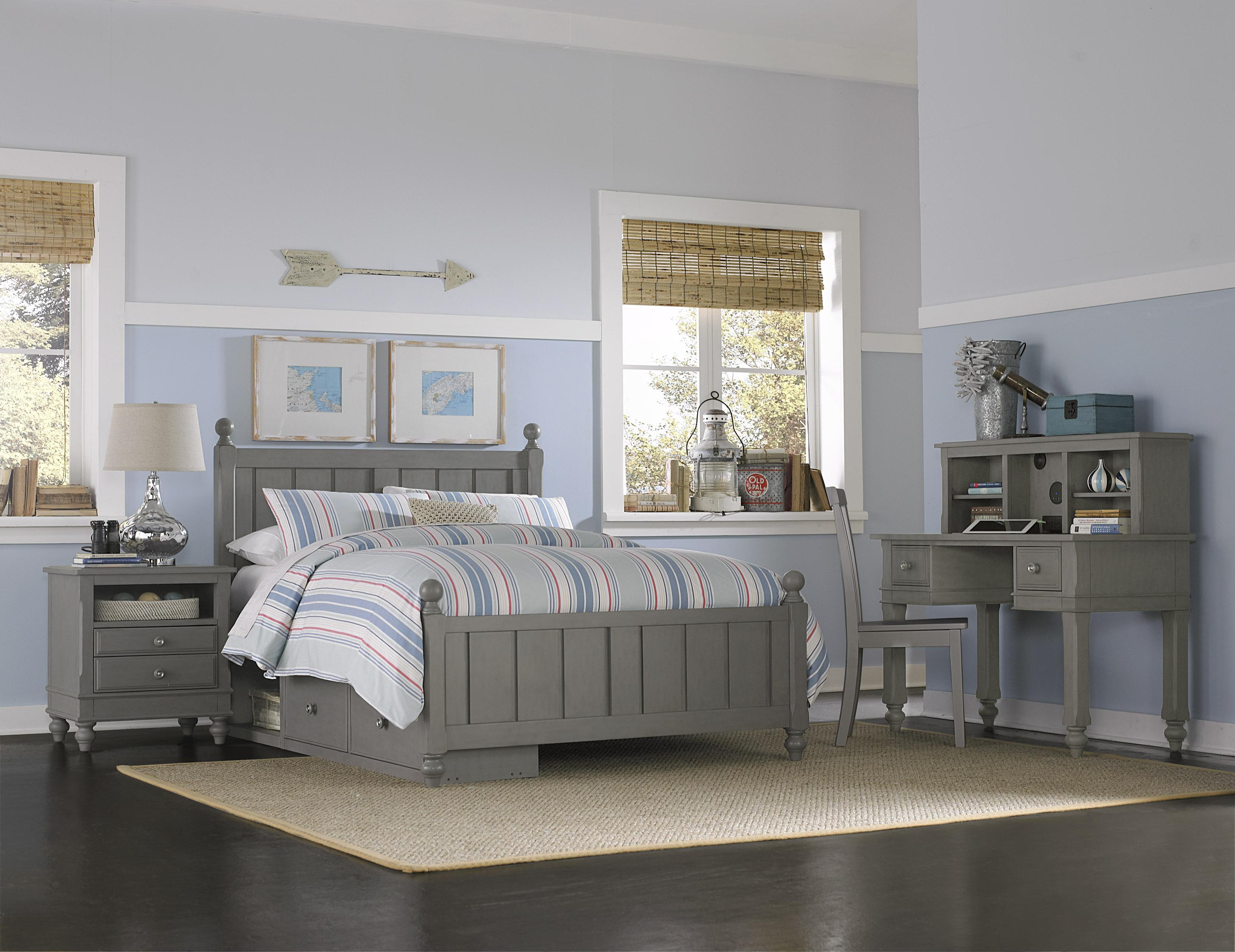 Ne kids lake house full kennedy storage bed group 3 dunk - Bright house bedroom furniture ...