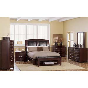 Casana Rodea Platform Sleigh Bed Stoney Creek Furniture
