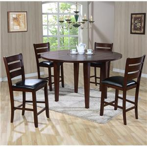 Primo International 4540 Gathering Height Drop Leaf Table