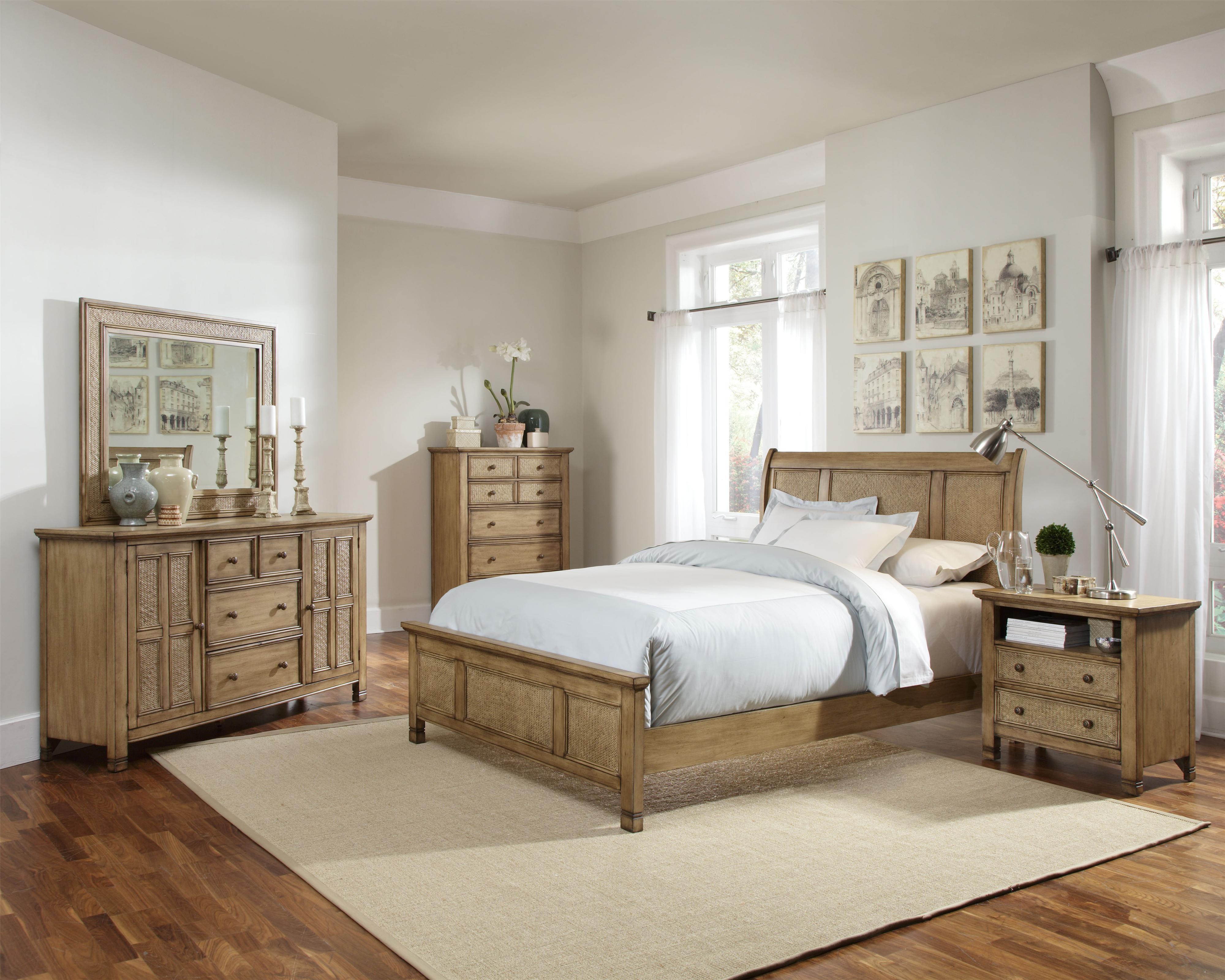 Progressive Furniture Kingston Isle King Bedroom Group Van Hill Furniture Bedroom Groups