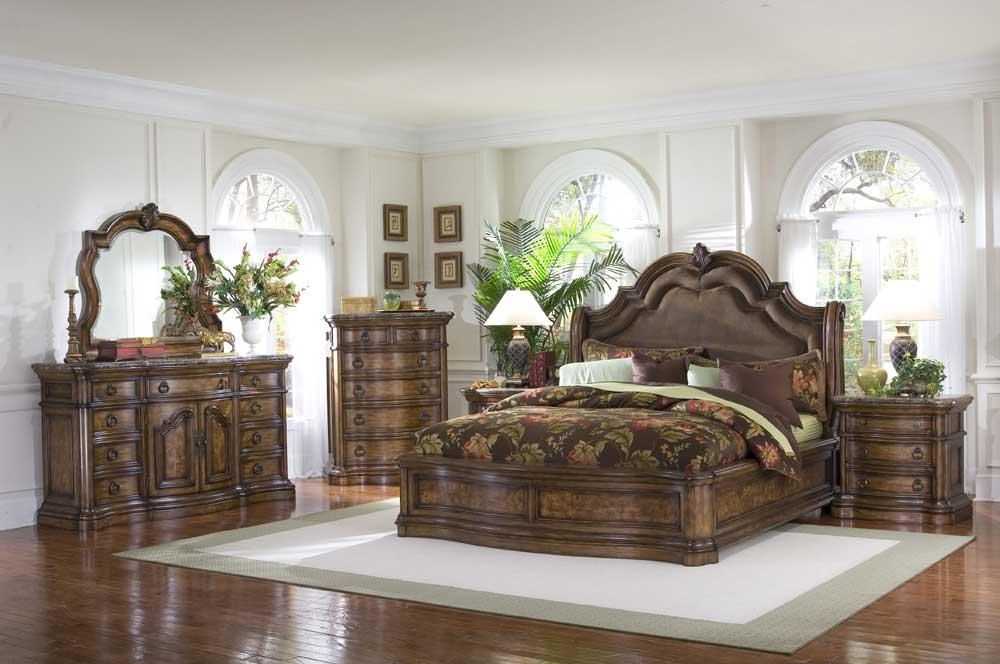 Pulaski furniture san mateo queen bedroom group ivan for Ivan smith furniture