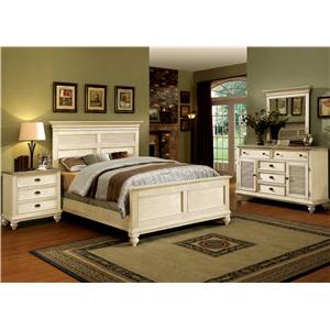 Coventry two tone 32500 by riverside furniture belfort furniture riverside furniture for Riverside coventry bedroom furniture