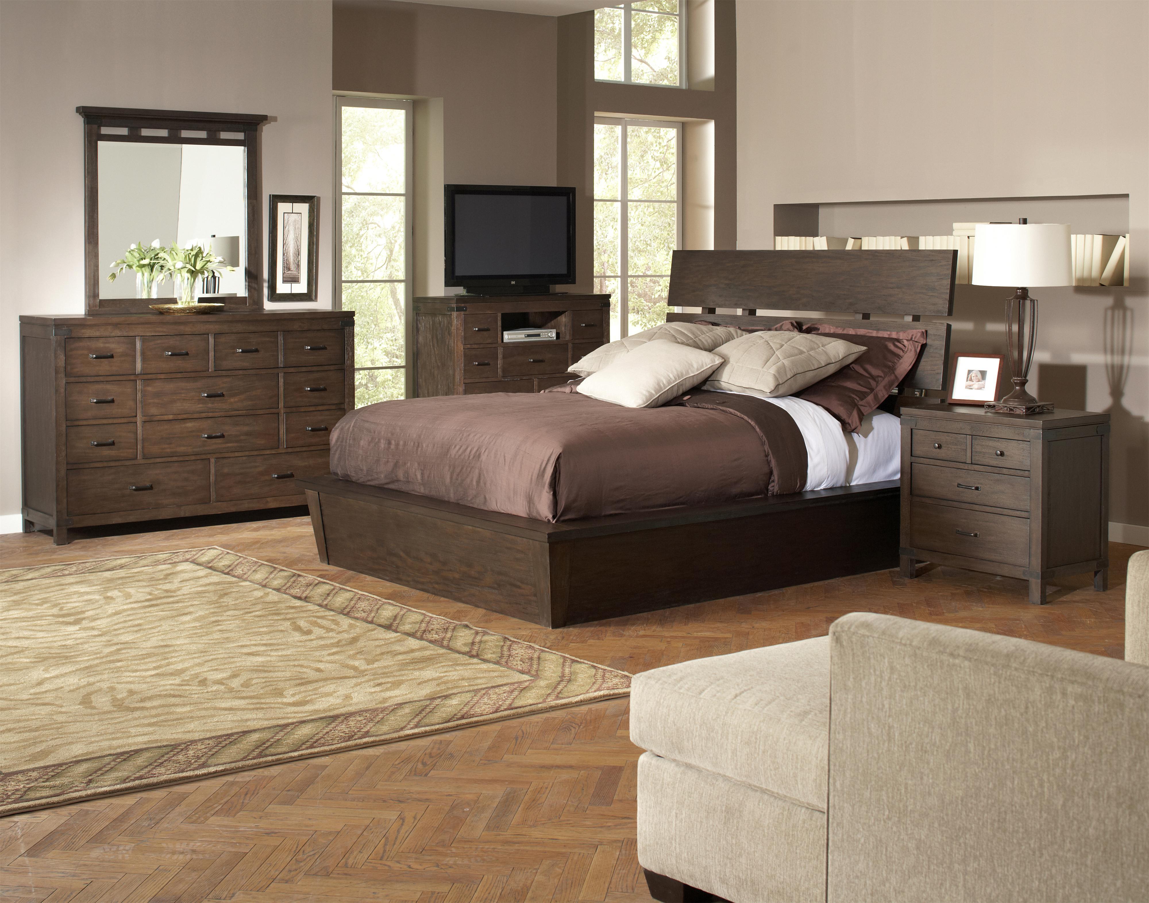 riverside furniture promenade california king bedroom group hudson 39 s furniture bedroom group. Black Bedroom Furniture Sets. Home Design Ideas