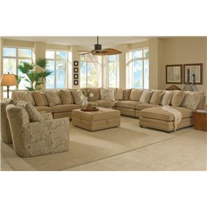 sam moore margo extra wide sectional sofa dunk bright. Black Bedroom Furniture Sets. Home Design Ideas