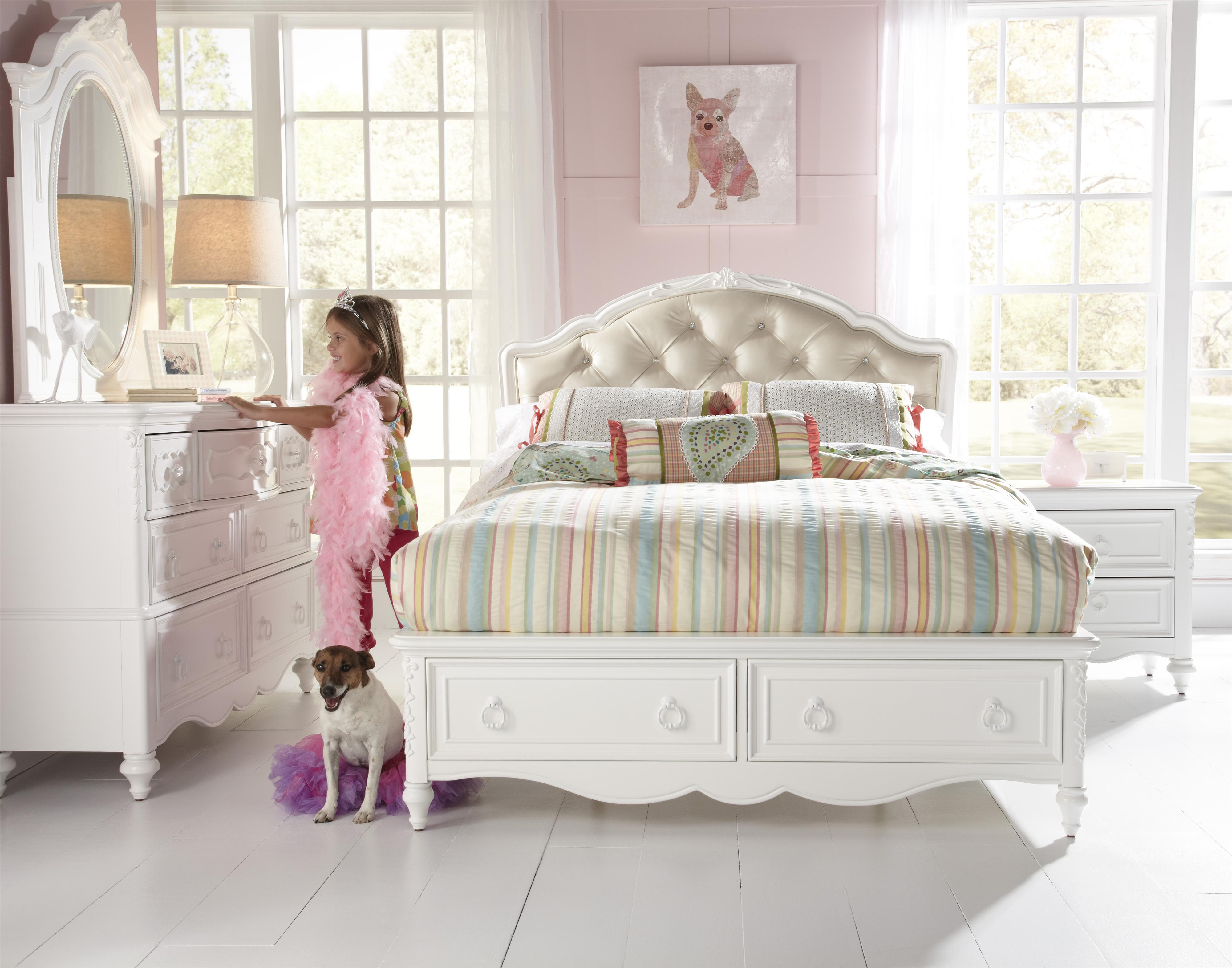 Samuel Lawrence Sweetheart Youth Full Bedroom Group Miskelly Furniture Bedroom Groups