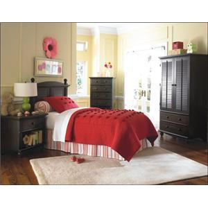 Sauder coconis furniture mattress 1st zanesville for Bedroom furniture in zanesville ohio