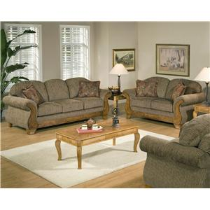 7400 7400 by Serta Upholstery by Hughes FurnitureColders