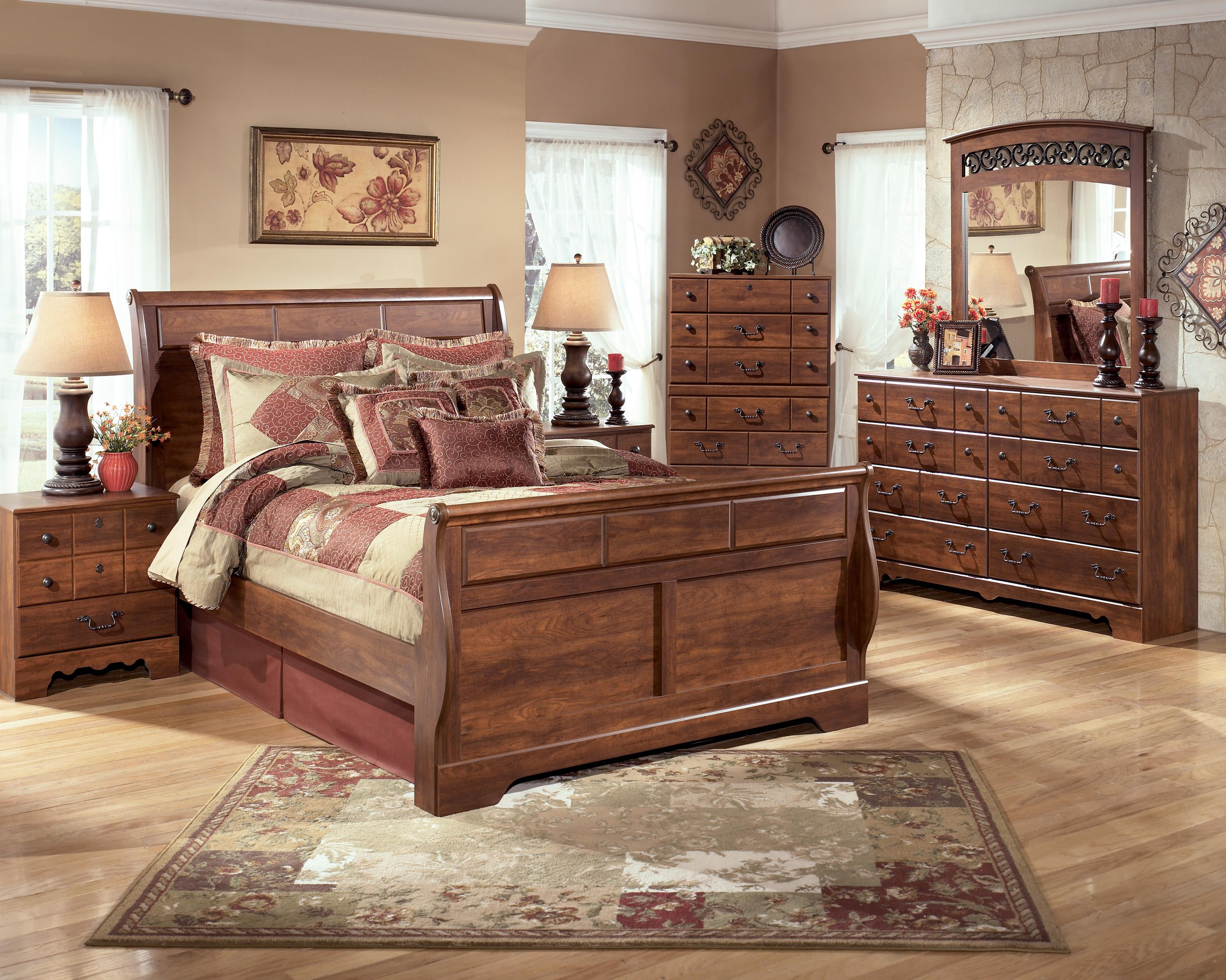 Signature Design By Ashley Timberline Queen Bedroom Group Del Sol Furniture Bedroom Groups