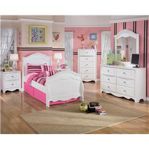 Signature Design By Ashley Exquisite Twin Bedroom Group Wayside Furniture Bedroom Groups
