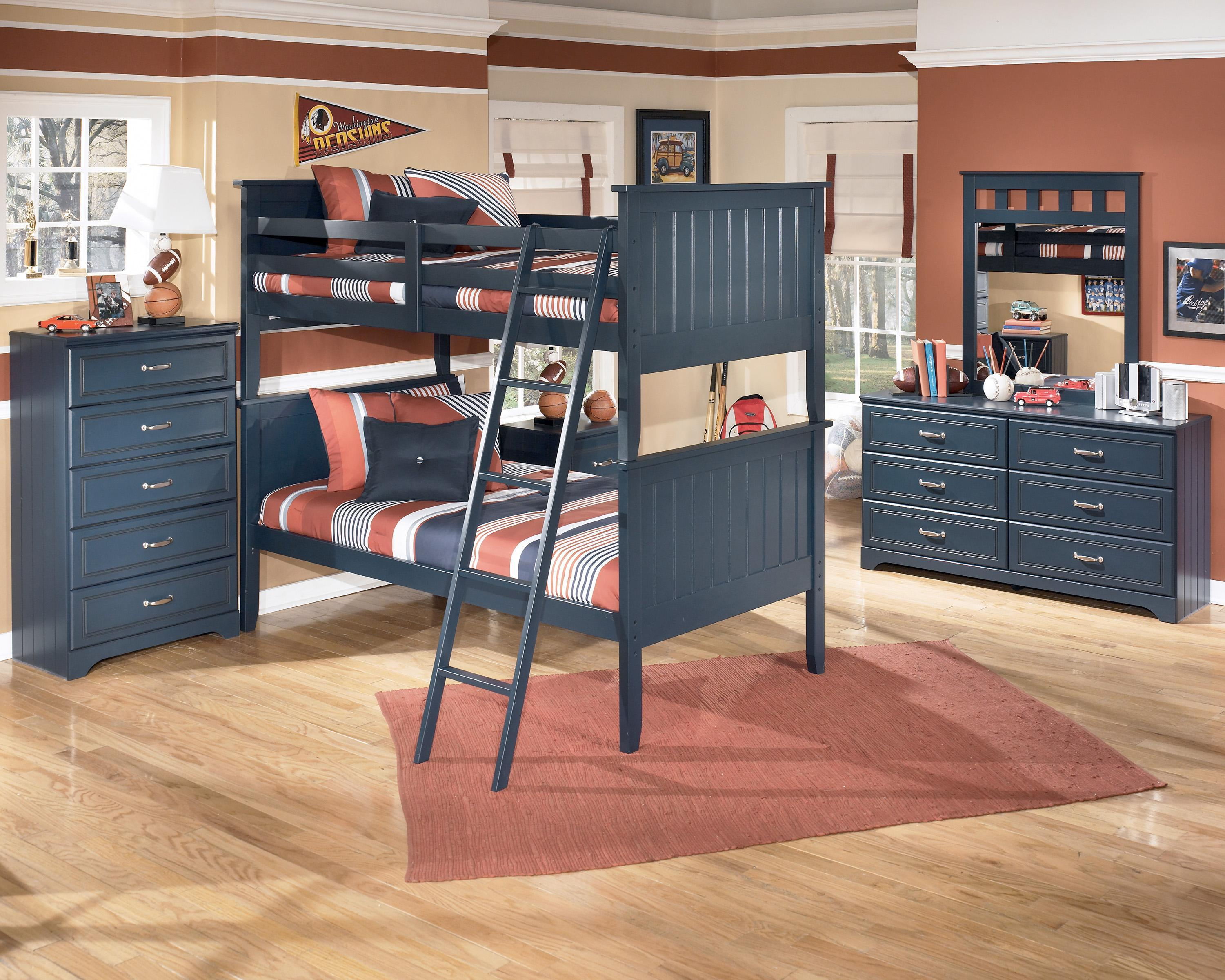 Signature Design by Ashley Leo Twin Bunk Bedroom Group