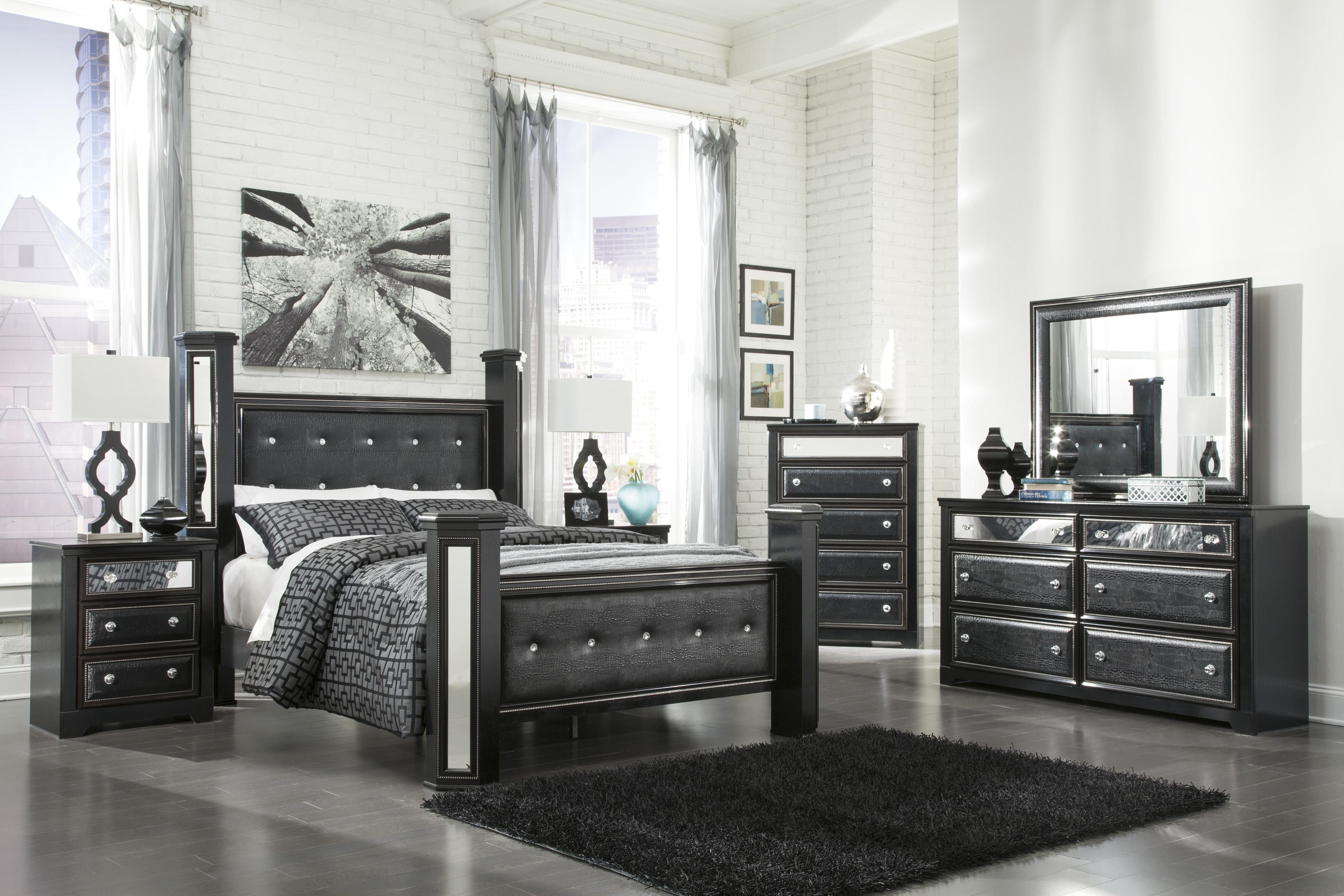 Signature Design by Ashley Alamadyre Queen Bedroom Group Household Furnitur