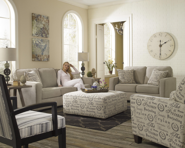 Ashley signature design alenya quartz stationary living for Living room group sets