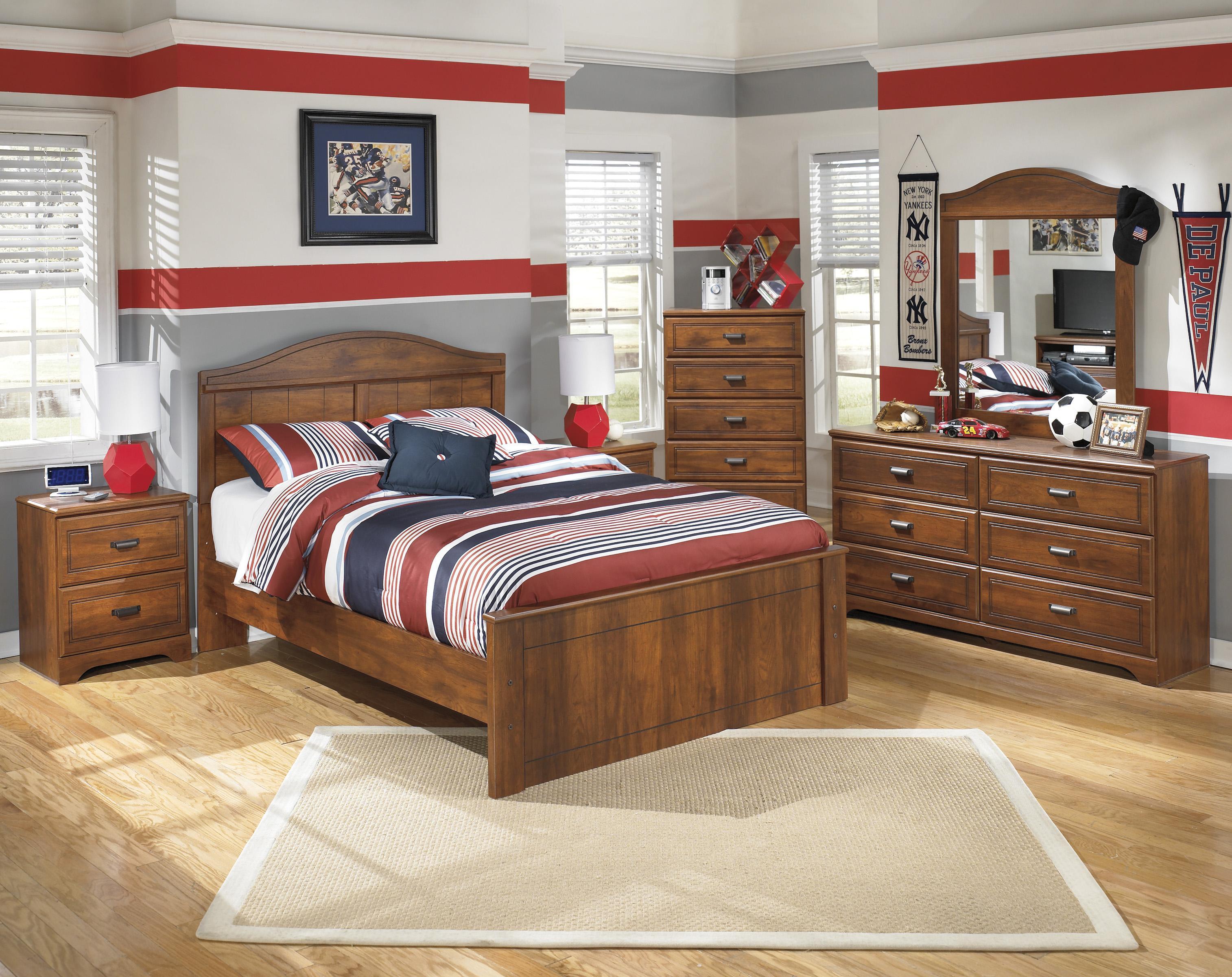 Signature Design By Ashley Barchan Full Bedroom Group Olinde 39 S Furniture Bedroom Group