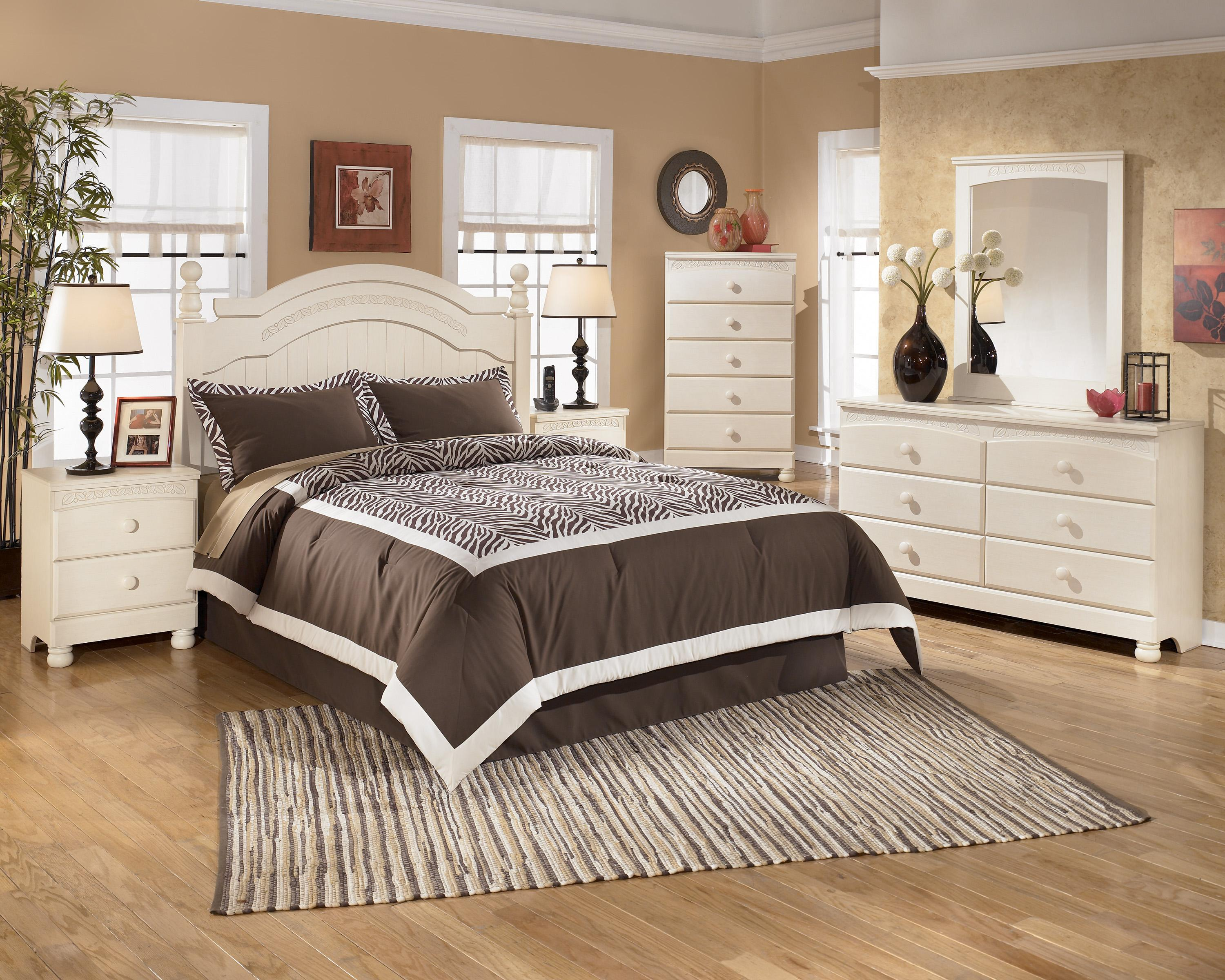 Cottage retreat cr by signature design by ashley del sol furniture signature design by for Cottage retreat bedroom set