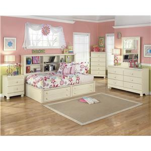 Cottage retreat cr by signature design by ashley regency furniture signature design by Cottage retreat collection bedroom furniture
