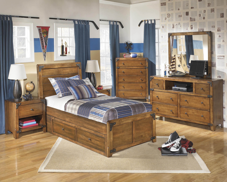 Signature Design by Ashley Delburne Twin Bedroom Group Del Sol Furniture