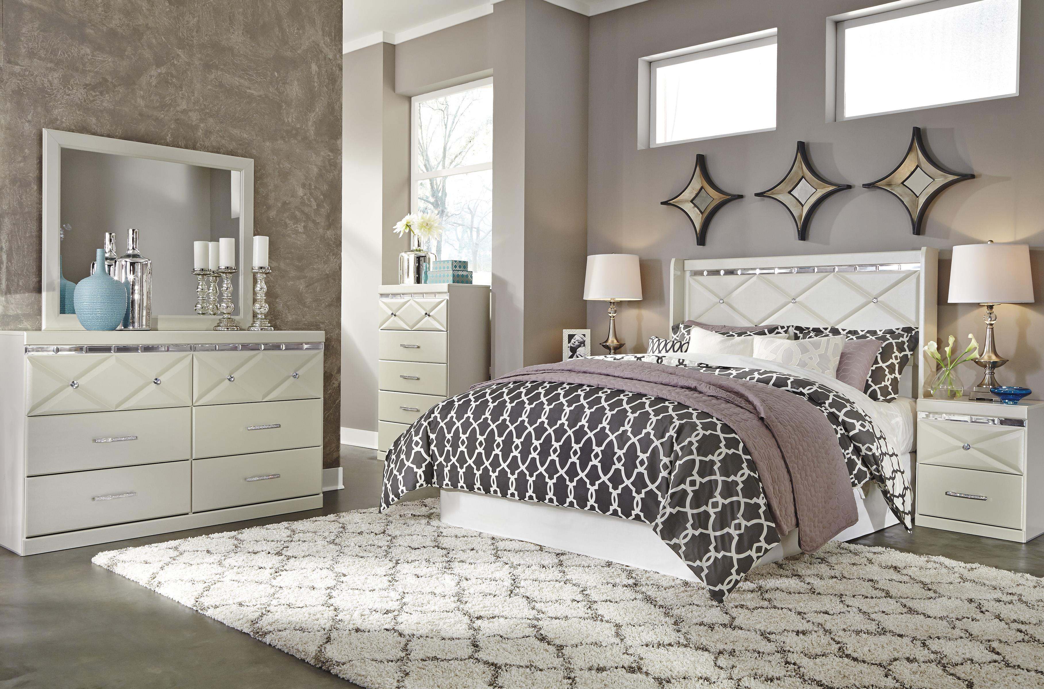 Signature design by ashley dreamur queen bedroom group del sol furniture bedroom groups Ashley home furniture bedroom sets